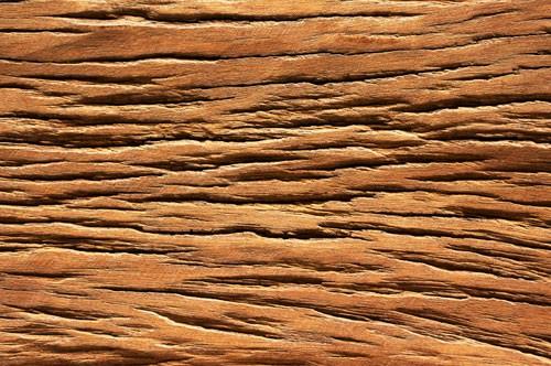 Spritzschutz Holz auf Acrylglas