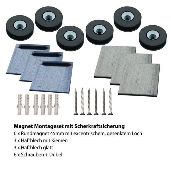 Magnetmontage 4
