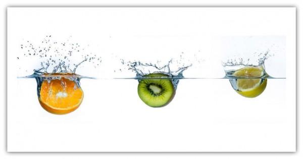 Spritzschutz Orange Kiwi Zitrone
